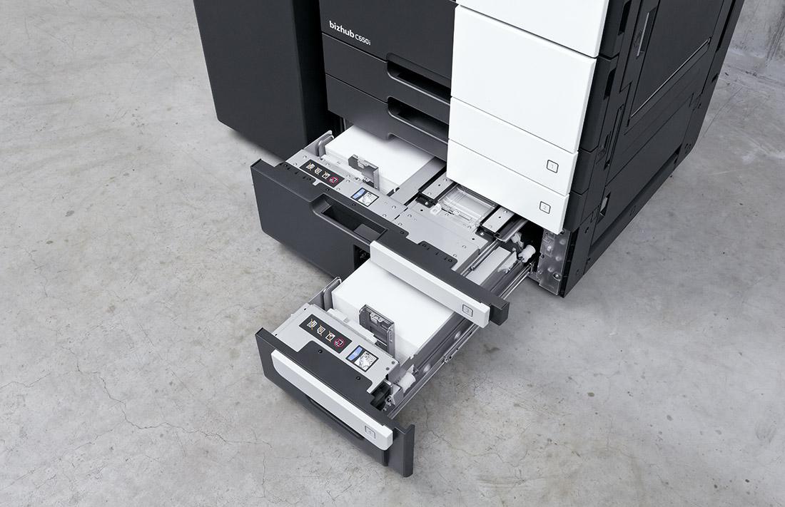 Stampanti laser: i cassetti extra