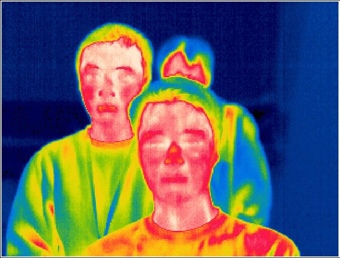 Termografia - come vede una termocamera