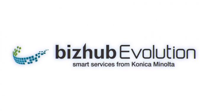 bizhub Evolution logo Konica Minolta
