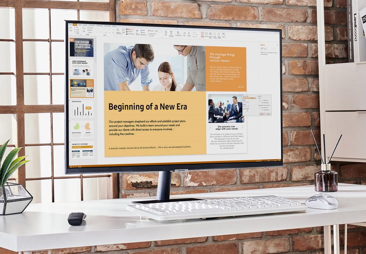 Monitor per smart working